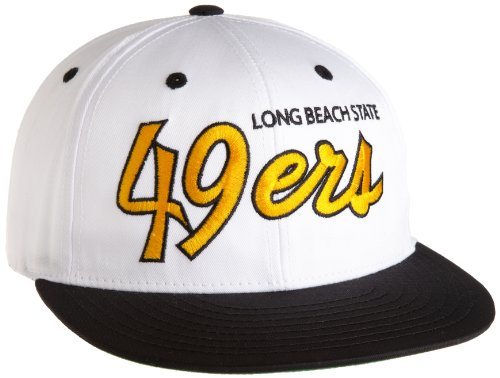 NCAA Long Beach State 49ers Script College Snap Back Team