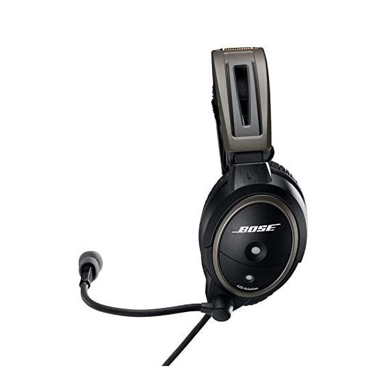 Bose A20 Aviation Headset Plug Cable 3 30% greater active noise reduction than conventional aviation headsets. Connectivity Technology: Wired 30% less clamping force than conventional aviation headsets Clear audio with active equalization