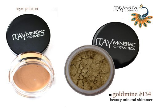 ITAY Beauty Mineral Eye Primer+ 100% Natural Eye Shadow Colo