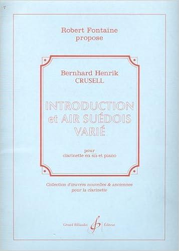 En ligne Introduction et Air Suedois Varie epub pdf