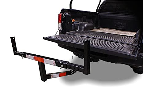 New Mtn Gearsmith Heavy Duty Pickup Truck Bed Hitch Mounted Extension Extender Rack Ladder Canoe Boat