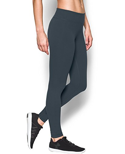 Under Armour Women's Mirror Legging, Stealth Gray (008), X-Large
