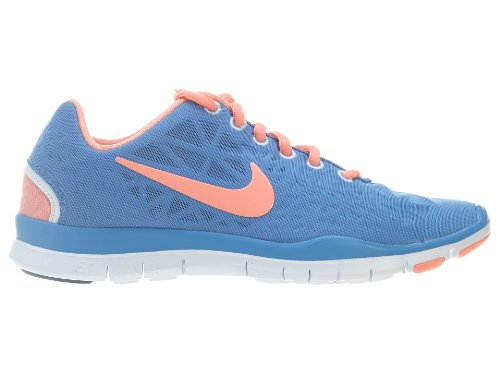 premium selection d862e d5145 Nike Women s WMNS FREE TR FIT 3, DISTANCE BLUE ATOMIC PINK ARMORY NAVY WHITE,  8.5 M US