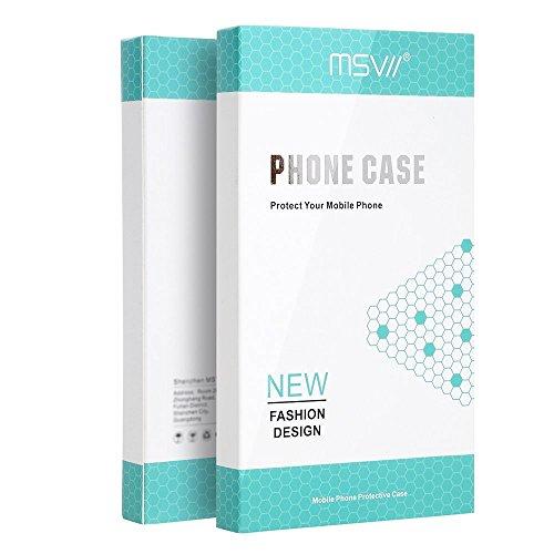 Huawei Mate 10 Lite Hülle, MSVII® Sehr Dünn Hülle Schutzhülle Case Und Displayschutzfolie für Huawei Mate 10 Lite - Lila JY00366