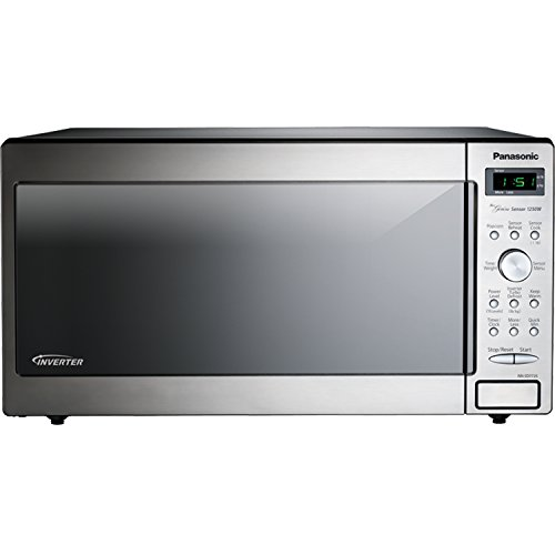 Panasonic NN-SD772S Stainless 1250W 1.6 Cu. Ft. Countertop/Built-in Microwave with Inverter Technology