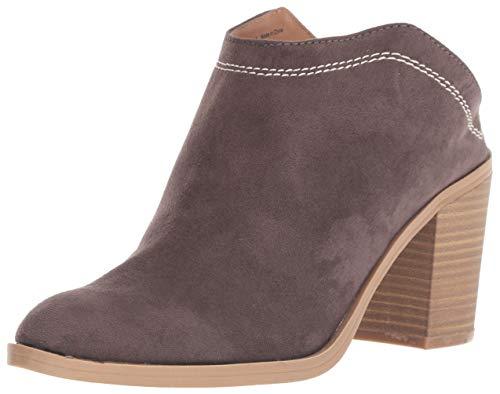 DV by Dolce Vita Women's Judges Ankle Boot, Granite Stella Suede, 10 M US