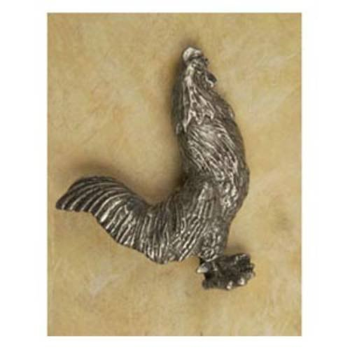 Anne at Home 41122 Rooster Facing Right Pull in Pewter Matte (Rooster Facing Pull)