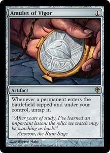 - Magic: the Gathering - Amulet of Vigor - Worldwake