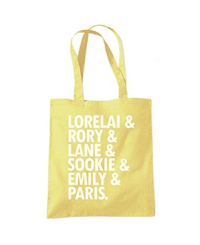 Amarillo De De La Bolsa Carril Perfumes Lorelai Rory Asas Limón 6xYqRI81