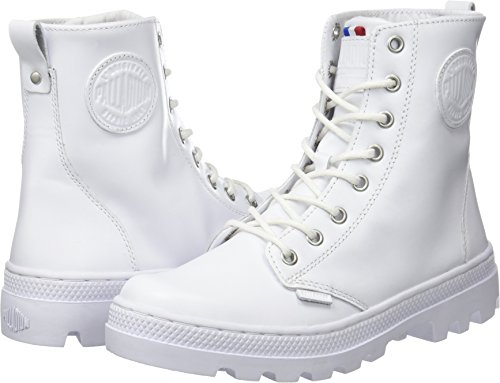 Lea Sneaker Alto W Bianco Collo Palladium Plboss white A Of Donna xREIwSq
