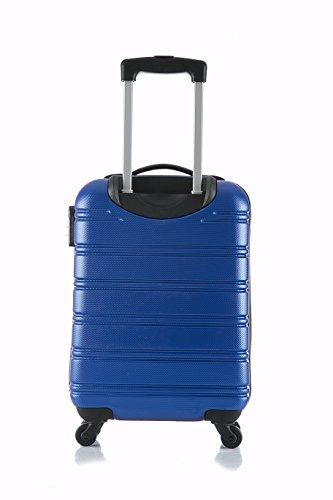 Trolley Rigido Bluestar Small Bilbao Blue: 52 cm