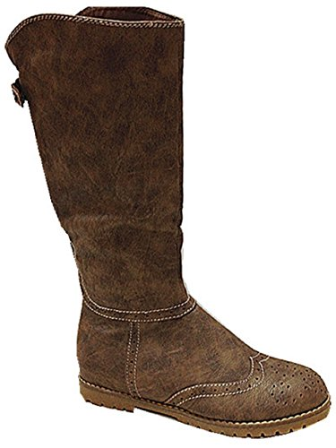 Botte bottines femmes chaussures plate mode chaud SB609 TAUPE