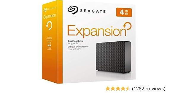 Xbox One et PlayStation 4 Seagate STEB6000403 6 TB Expansion Desktop USB 3.0 Disque dur externe pour PC