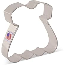 Baby Dress Cookie Cutter by Tunde's Creations - 3.5 Inch - Ann Clark - US Tin Plated Steel
