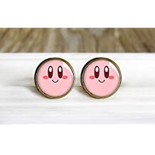 Kirby Stud Earrings -Antique Bronze Post Earrings