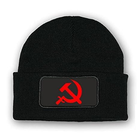Copytec MützeBeenie Hammer und Sichel UDSSR: