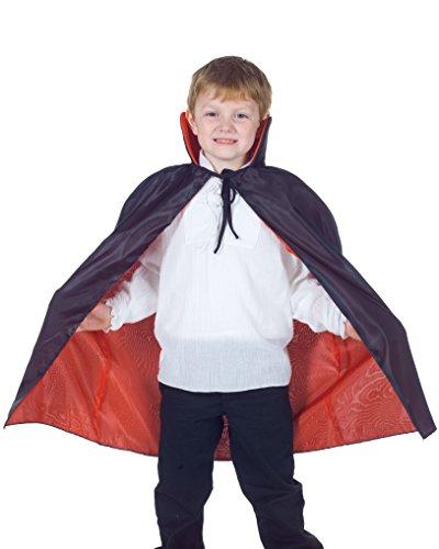 Children's Taffeta Cape Costume - Reversible