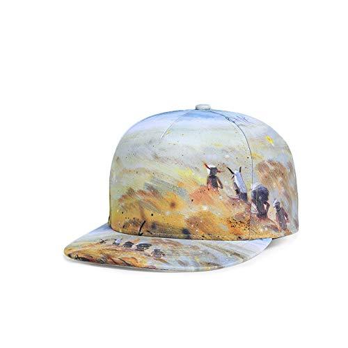 Retro para Hombre Gorra Primavera Mujer Hombre Gorra Béisbol Deporte al Jungla de Ocio Verano Hat Sol Aire Libre para de Sombrero Unisex de qxqAC18wtf