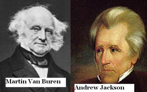 Image result for jackson and van buren