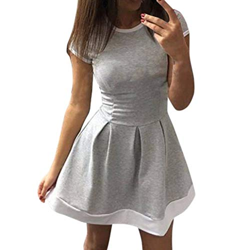 Cocktail Bodycon Casual Dress Short Women KIMODO Party Gray Evening Ladies Summer pZFwSqH