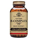 "Solgar – B-Complex ""50"", 250 Vegetable Capsules"