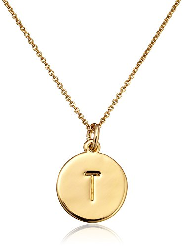 "kate spade new york ""Kate Spade Pendants"" ""T"" Pendant Necklace, 18″"