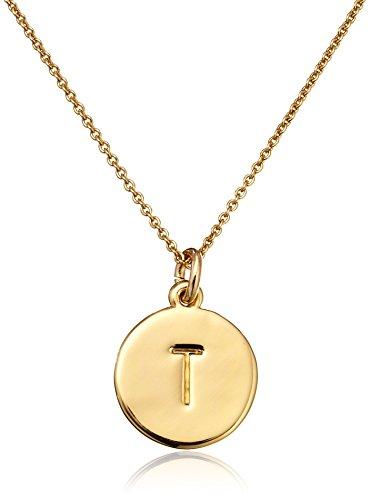 Kate Spade New York ''Kate Spade Pendants T Pendant Necklace, 18'' by Kate Spade New York (Image #1)
