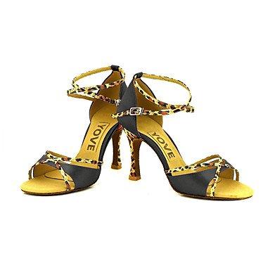 baile Personalizado Rojo Personalizables Purple Negro Azul Zapatos Salsa Morado Blanco de Latino Amarillo Rosa Tacón qS5wTx0