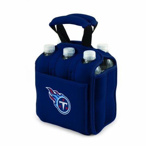 Tennessee Titans Flask - NFL Tennessee Titans Six Pack Cooler Tote