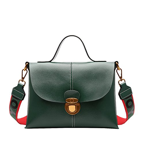 Bolso DISSA de Medium hombro al Verde para Charol mujer FxxC7gdwqv