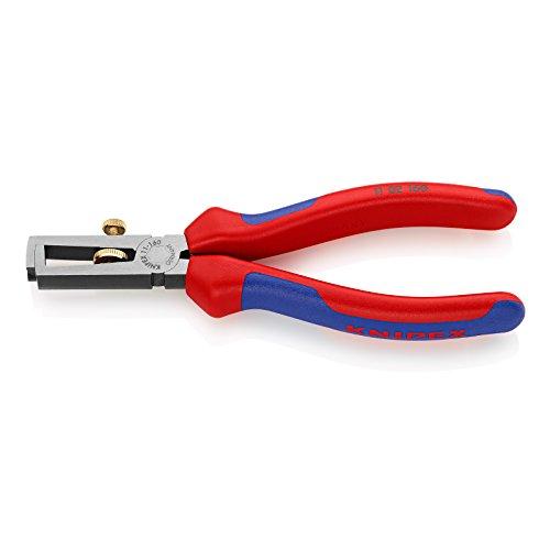 KNIPEX 11 02 160 Abisolierzange mit Mehrkomponenten-Hüllen