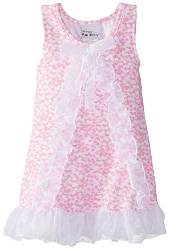 Flap Happy Baby Girls' Adele A Line Dress, Baby Blooms, 18 Months (Flap Happy Clothes)