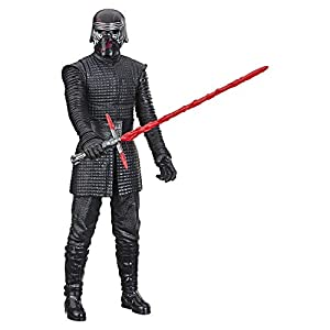 "Star Wars Hero Series The Rise of Skywalker Supreme Leader Kylo Ren Toy 12"" Scale Action Figure, Toys for Kids Ages 4 & Up"