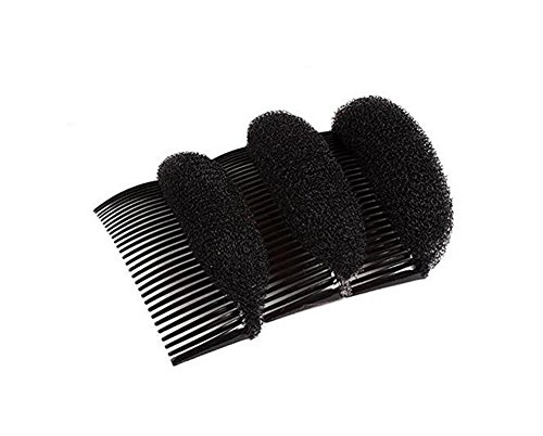 Pack of 2 Women Lady Girl Hair Styling Clip Charming BUMP IT UP Volume Inserts Do Beehive Hair Styler Tool Stick Bun Maker Hair Comb Hair Accessories Hot (Sexy Updo)