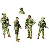 タミヤ 1/35 ミリタリーミニチュアシリーズ No.276 陸上自衛隊 イラク派遣隊員セット プラモデル 35276
