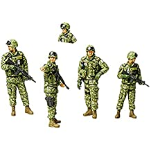 #35276 Tamiya Military Miniatures JGSDF Iraq Humanitarian Assistance Team 1/35 Scale Plastic Model Kit,Needs Assembly