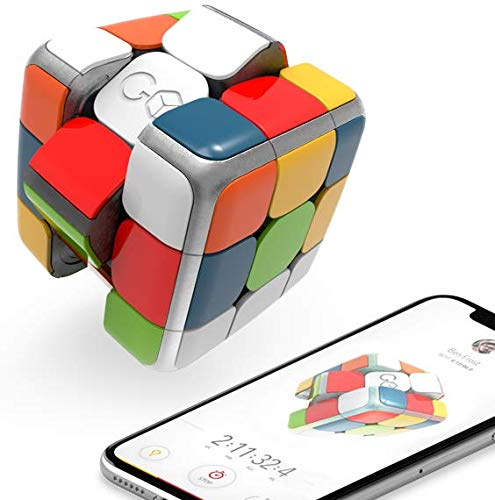 GoCube The Connected, Smart Rubik's Puzzle Cube: Game and STEM Toy for Speed and Competition