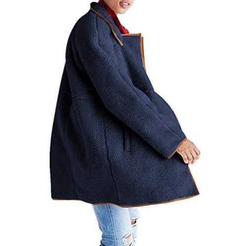 Suave Invierno Otoño Mujers Abrigos Talla Fleece Outerwear S xl Outfits Algodón Cremallera Hibote Chaqueta 4 Grande xq7XXTC