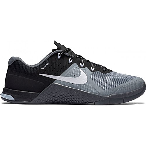 NIKE Women's WMNS Metcon 2, Stealth/White-Black-Dark Grey, 11.5 M US