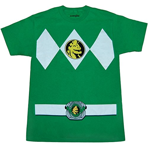 Mighty Morphin Power Rangers Green Ranger Costume (Mighty Star)
