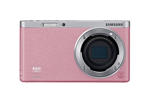 Samsung NX Mini Mirrorless Digital Camera (Pink Body Only) - International Version (No Warranty)
