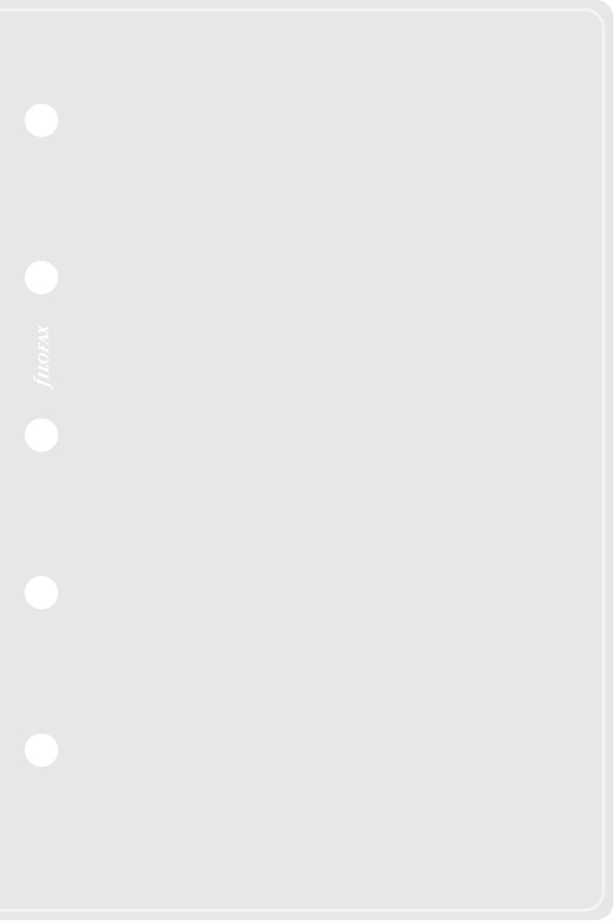 Filofax Mini Transparent Envelope Side Opening 513610