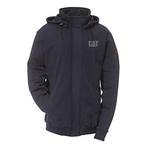 Caterpillar Flame Resistant 14.5 oz  Full Zip Sweatshirt ...