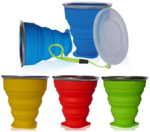AVALEISURE Collapsible Silicone Travel Cup product image