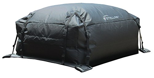 STELLAR 10203 Waterproof Roof Top Cargo Bag (15 Cu Ft)