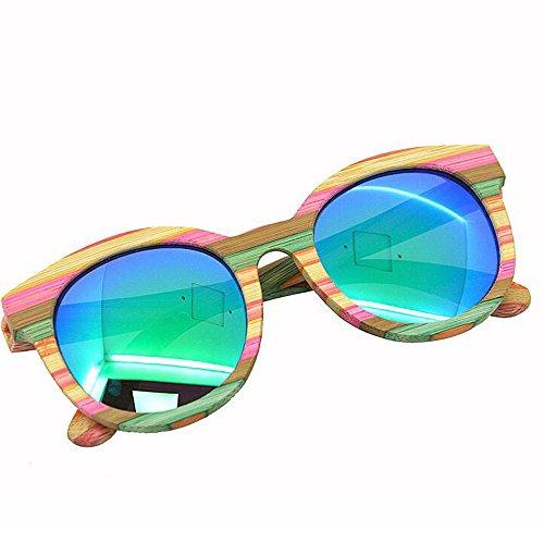 Madera Eye Gafas Protección ANLW UV Designer Sunglasses Retro De Polarizadas X4 Sol Cat G005A X4 Sunglasses Excursionistas para De Mirror Neutral Wood 5xFSSqwzX