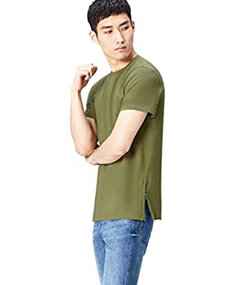 Find T-Shirt For Men - Green, Size Small (A17024-5)