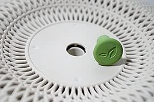 Keter - Maceta mediana de exterior e interior Cozies de base redonda, Color arena