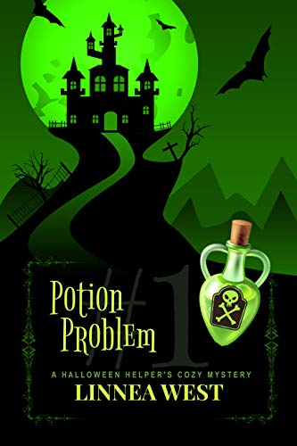 Potion Problem: A Halloween Helper's Cozy Mystery by [West, Linnea]