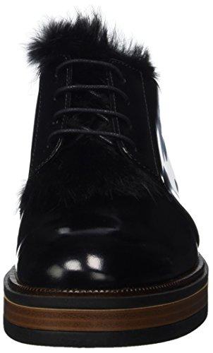 Femme Noir 04 Derbys 5 Nero 3858 PEPEROSA q60FOF